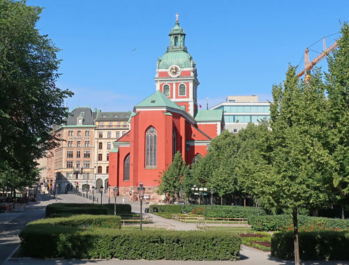 St. Jacob's Church, Stockholm Sweden