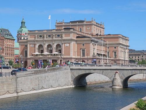 City Landmarks in Stockholm Sweden